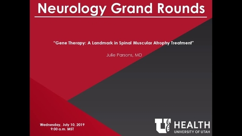 Thumbnail for entry Gene Therapy: A Landmark in Spinal Muscular Atrophy Treatment