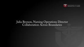 Thumbnail for entry Julia Beynon: Collaboration