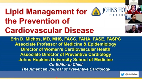 Thumbnail for entry Lipid management for the prevention of cardiovascular disease