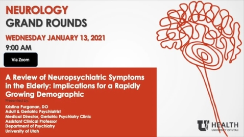 Thumbnail for entry A Review of Neuropsychiatric Symptoms in the Elderly: Implications for a Rapidly Growing Demographic