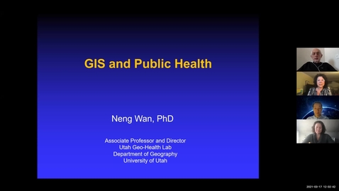 Thumbnail for entry GIS & Public health