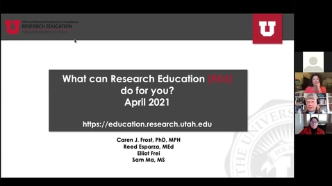Thumbnail for entry Research Education