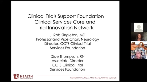 Thumbnail for entry Introduction to clinical trial resources