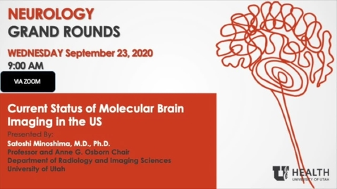 Thumbnail for entry Current Status of Molecular Brain Imaging in the US