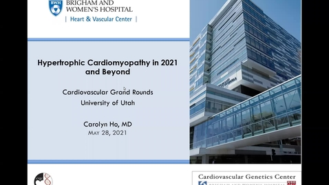 Thumbnail for entry Hypertrophic cardiomyopathy in 2021 & beyond