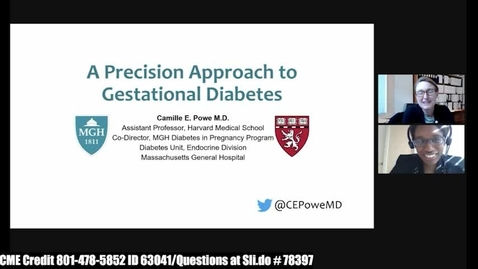 Thumbnail for entry A Precision Approach to Gestational Diabetes