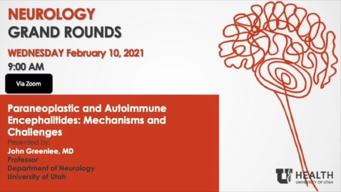 Thumbnail for entry Paraneoplastic and Autoimmune Encephalitides: Mechanisms and Challenges