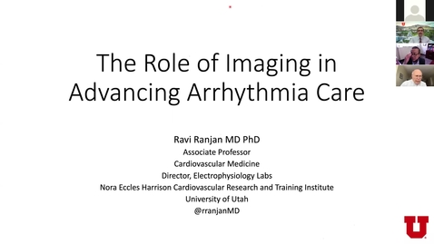 Thumbnail for entry The role of imaging in advancing arrhythmia care