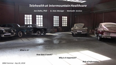 Thumbnail for entry Telehealth at Intermountain Healthcare