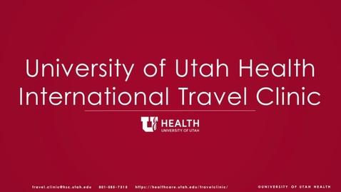 Thumbnail for entry Travel - Respiratory Precautions