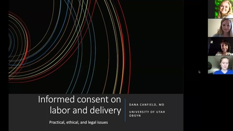 Thumbnail for entry Informmed consent on labor & delivery