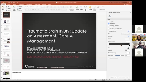 Thumbnail for entry TBI in the Trauma Patient