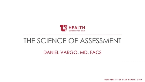 Thumbnail for entry 9/23/2020 The Science of Assessment