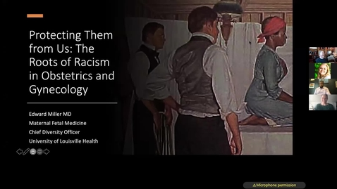 Thumbnail for entry Protecting them from us: The roots of racism in Obstetrics & Gynecology