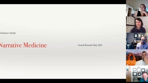 Thumbnail for entry Narrative medicine