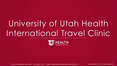 Thumbnail for entry Travel - Vaccinations