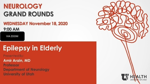 Thumbnail for entry Epilepsy In Elderly