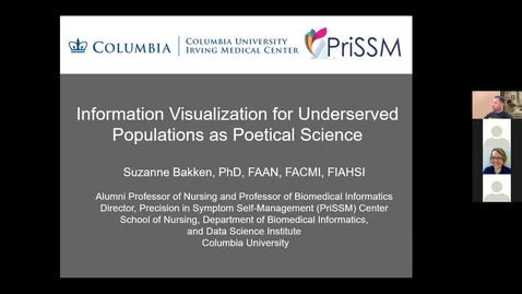 Thumbnail for entry Information Visualization for Underserved Populations as Poetical Science