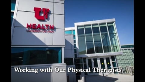 Thumbnail for entry Physical Therapy at the U