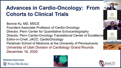 Thumbnail for entry Advances in Cardio-oncology: From cohorts to clinical trails