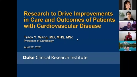 Thumbnail for entry Research to drive improvements in care & outcomes of patients with cardiovascular disease