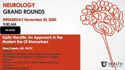 Thumbnail for entry Optic Neuritis: An Approach In The Modern Era Of Biomarkers