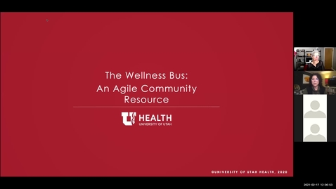 Thumbnail for entry The wellness bus: An agile community resource