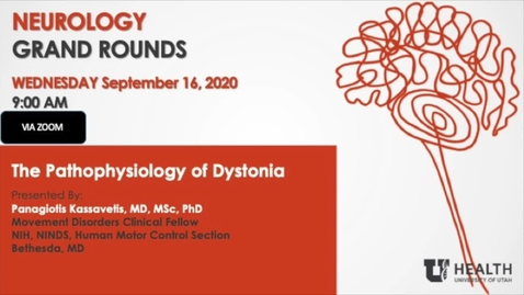 Thumbnail for entry The Pathophysiology of Dystonia