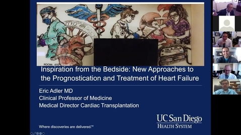 Thumbnail for entry Inspiration from the bedside: New approaches to the prognostication & treatment of heart failure