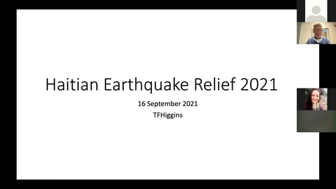 Thumbnail for entry 9/16/2021 Operative Experience from the 2021 Haiti Earthquake