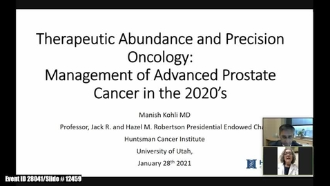 Thumbnail for entry Therapeutic Abundances and Precision Oncology: Management of Advanced Prostate Cancer in the 2020's