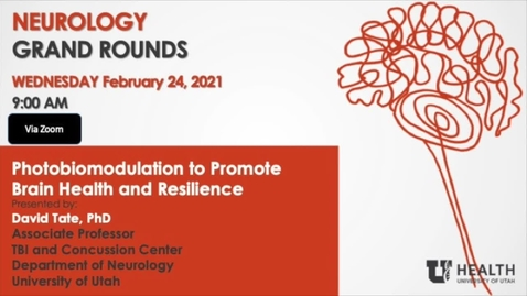 Thumbnail for entry Photobiomodulation to Promote Brain Health and Resilience