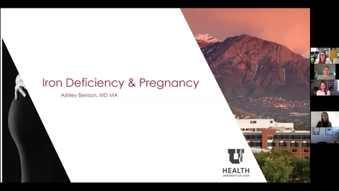 Thumbnail for entry Iron deficiency & pregnancy