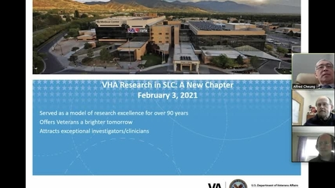 Thumbnail for entry VA Research Update 2021: Moving Forward