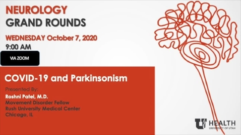 Thumbnail for entry COVID-19 and Parkinsonism