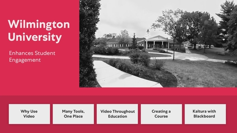 Thumbnail for entry Wilmington University - Interactive
