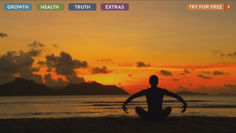 Thumbnail for entry Gaiam TV - October Landing Page