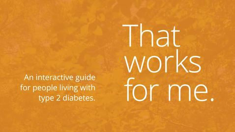 Thumbnail for entry Healthline - Lifestyle Guide for Type 2 Diabetes