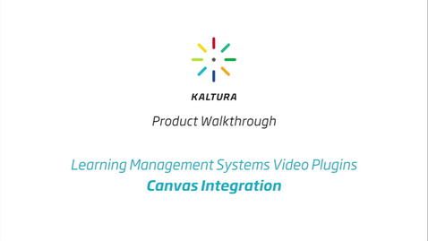 Thumbnail for entry Canvas LMS Walkthrough