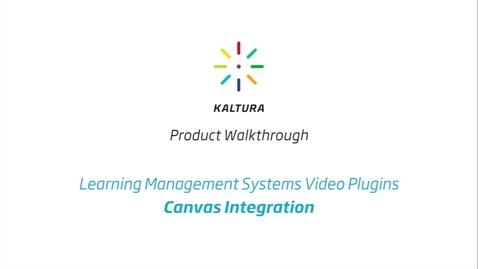 Thumbnail for entry Canvas LMS Walkthrough