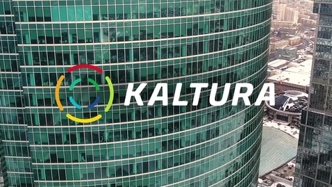Thumbnail for entry Kaltura Overview