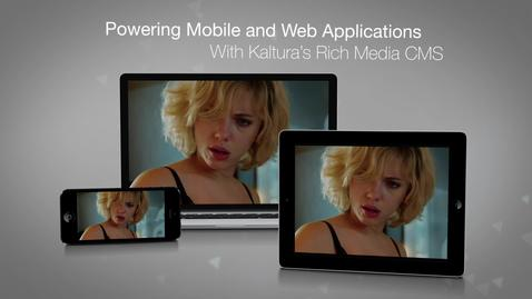HBO - Powering Applications through the Kaltura CMS