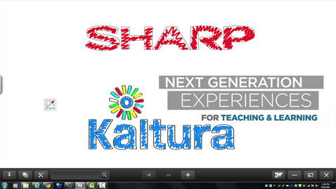 Thumbnail for entry Kaltura and Sharp Bring Personalized Learning Into The Classroom