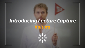 Thumbnail for entry Introducing Lecture Capture