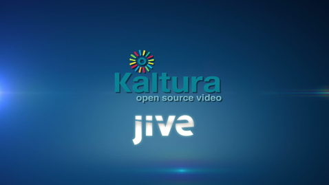 Thumbnail for entry Kaltura Video Plugin for Jive