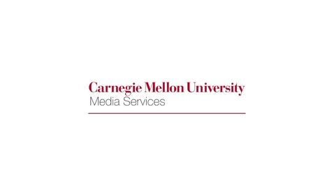 Thumbnail for entry Carnegie Mellon Lecture Capture