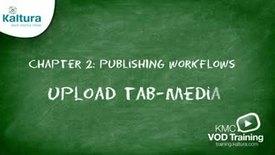Thumbnail for entry Upload Tab: Media | Kaltura KMC Tutorial