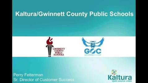 Thumbnail for entry Revolutionize Education Experiences - Gwinnett Online Campus Case Study