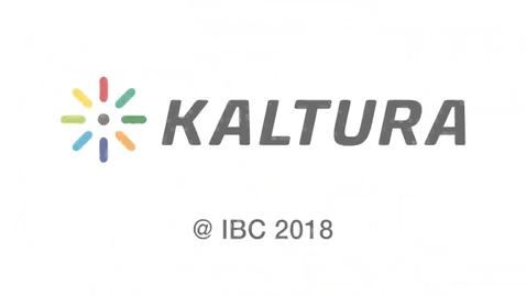 Thumbnail for entry 2018 IBC Kaltura IBC 2018 Gideon Gilboa