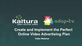 Thumbnail for entry How Publishers Maximize Online CPM using Kaltura and Adap.tv